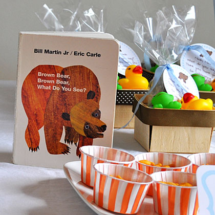 Brown Bear Book Table