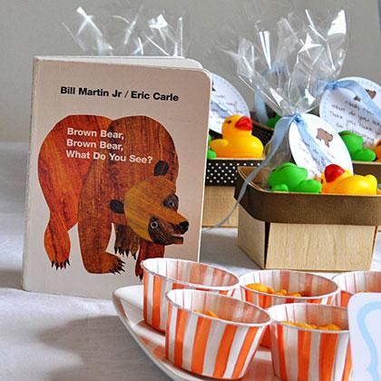 Brown Bear Book Table