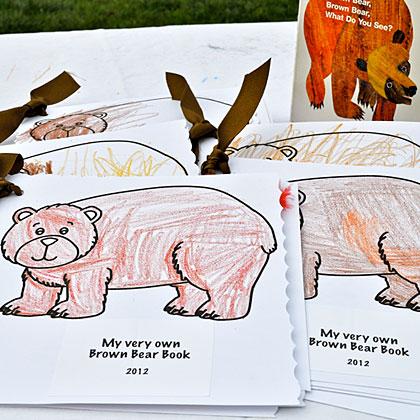 Brown Bear Coloring Books