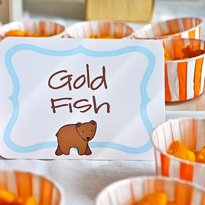 Brown Bear Gold Fish