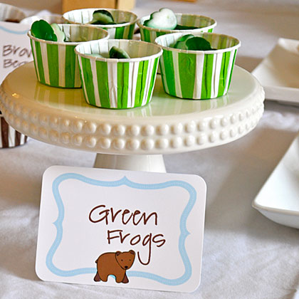Brown Bear Green Frogs