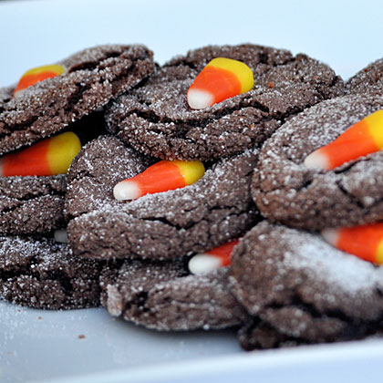 Halloween Party Chocolate Cookies