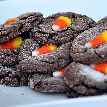 Halloween Party Chocolate Cookies