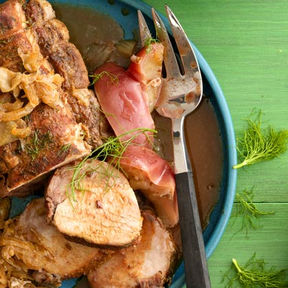 Pork Roast with Apples