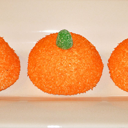 Halloween Party Pumpkin Cakes