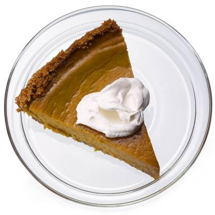 <p>Healthier Pumpkin Pie</p>