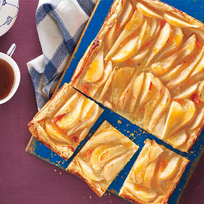 Rustic Pear Tart Recipe