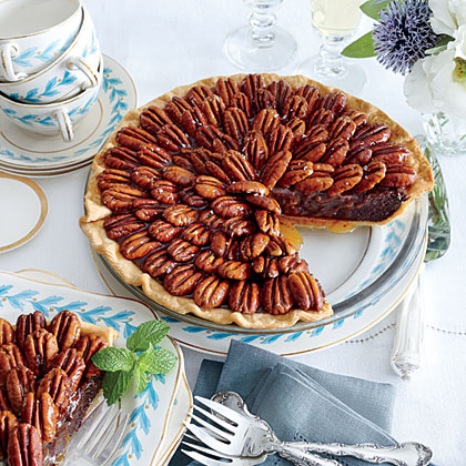<p>Salted Caramel-Chocolate Pecan Pie</p>