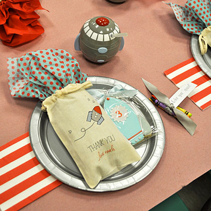 Space Party Place Setting