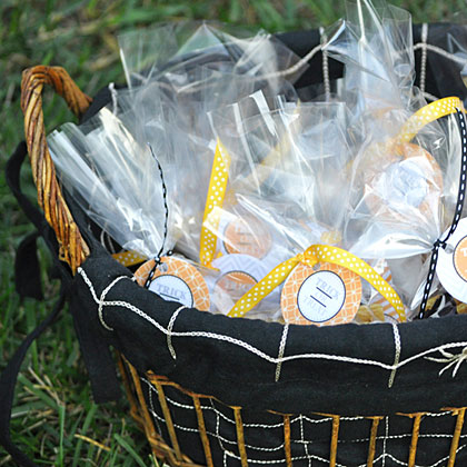 Halloween Party Treat Basket