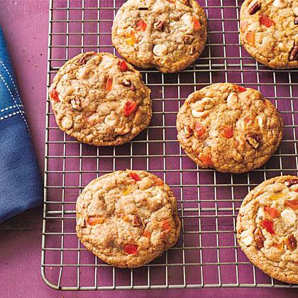 Tropical White-Chocolate Chunk Cookies Recipe