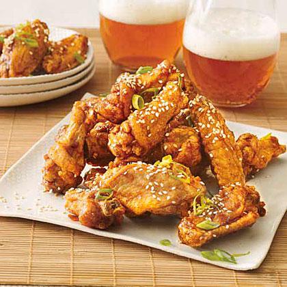 Twice-Fried Chicken WingsRecipe