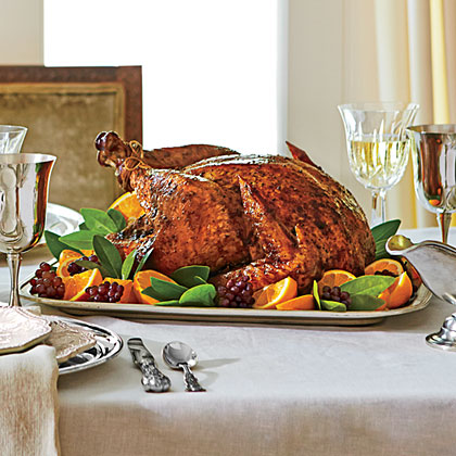 Citrus-Roasted Turkey with Lemon Aïoli