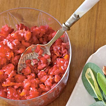 Cranberry-Orange Relish Recipe