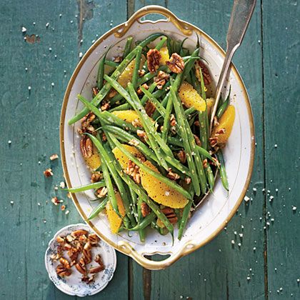 Green Beans with Citrus and Pecans Recipe