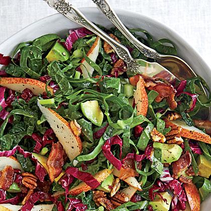 Kale-and-Collards Salad