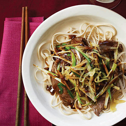 Beef Stir-Fry with Fresh and Pickled Ginger Recipe