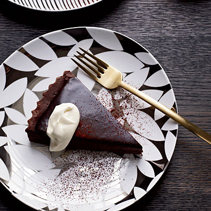 Bittersweet-Chocolate Tart Recipe