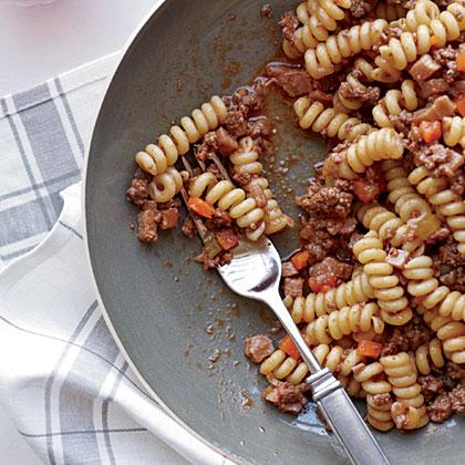 Butcher's Ragu with Fusilli