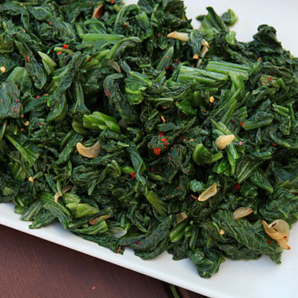 Calabrese Mustard Greens Recipe