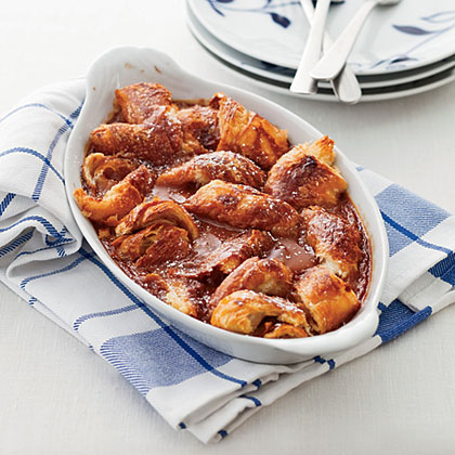 Caramel-Croissant Pudding Recipe