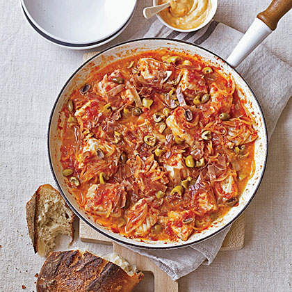 Catalan Fish Stew with Pimenton Mayonnaise Recipe
