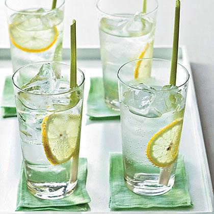 Ginger-Lemongrass Soda