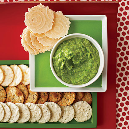 Ginger-Miso Sweet Pea Spread