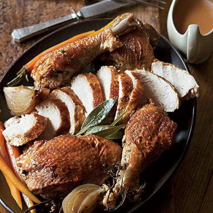 Herbed Turkey Two Ways