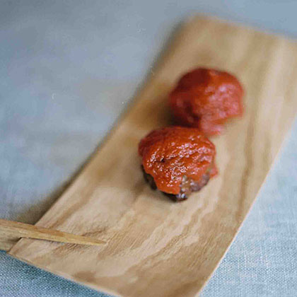 Italian Meatballs in Caper-Tomato Sauce