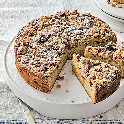 Peach Streusel Cake Recipe