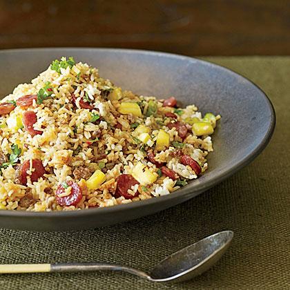 Pork-and-Pineapple Fried Rice Recipe