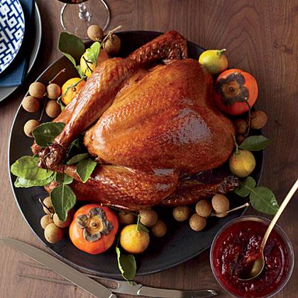 Soy-Sauce-and-Honey-Glazed Turkey Recipe