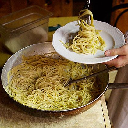 Spaghetti Cacio e PepeRecipe