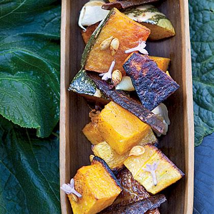 Sugar-and-Spice-Roasted Squash Recipe