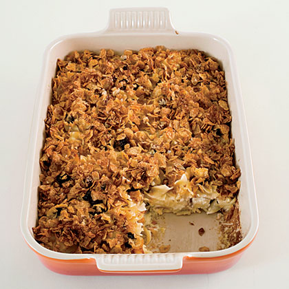 Sweet Noodle Kugel with Dried Cherries Recipe