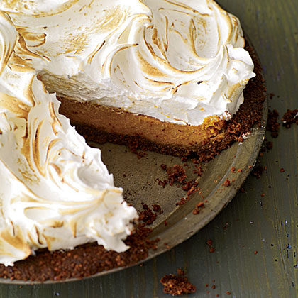 Sweet-Potato Meringue Pie