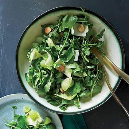Watercress Salad with Verjus Vinaigrette
