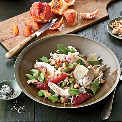 Winter Chicken Salad with Citrus and Celery Recipe