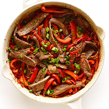 Five-Pepper Steak