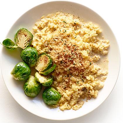 Golden Cauliflower  Risotto