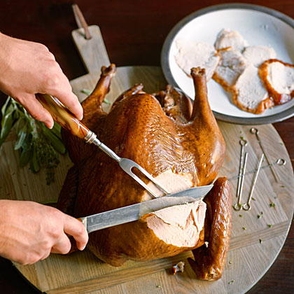 Sage and Thyme Smoked Turkey