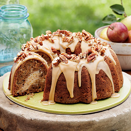 Cake of the Week: Apple-Cream Cheese Bundt Cake