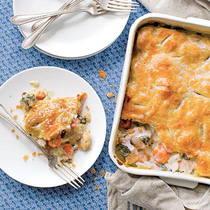 Harvest Time Chicken Pot Pie Recipe