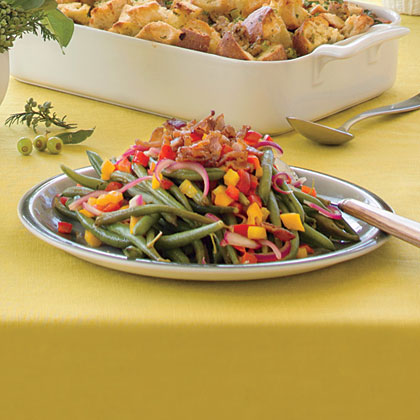 Jeweled Green Beans Recipe