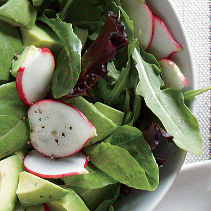 Avocado and Radish Salad