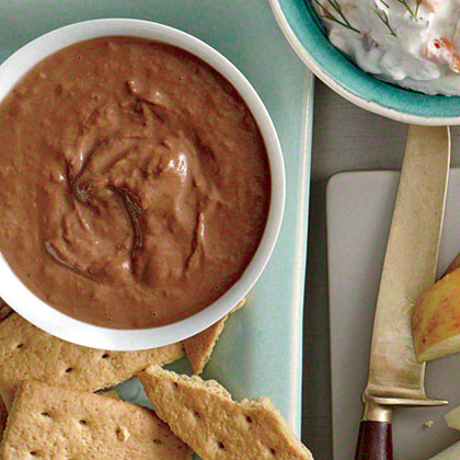 Banana, Chocolate, and Hazelnut Dip