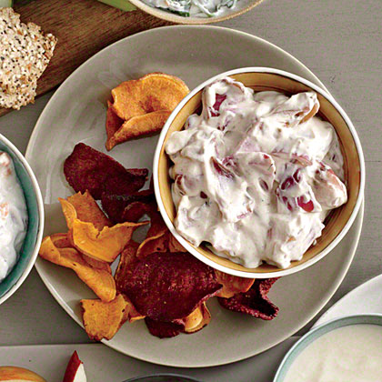 Charred Red Onion Dip Recipe