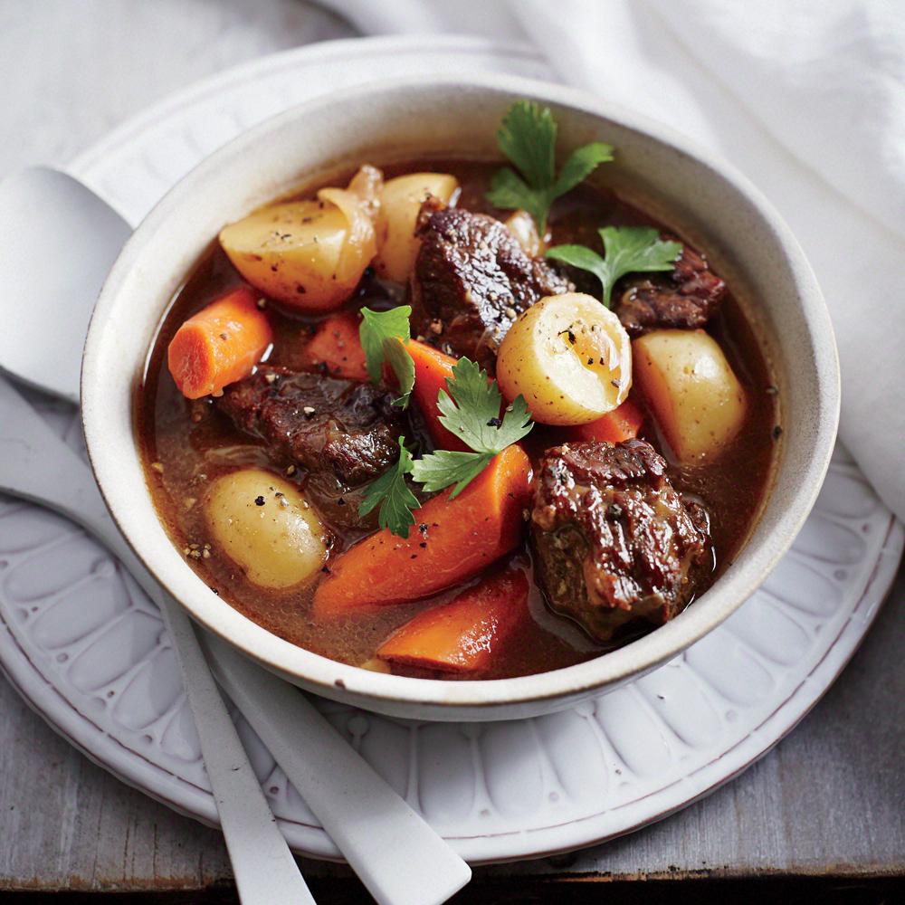 Classic Slow Cooker Beef Stew Recipe Myrecipes