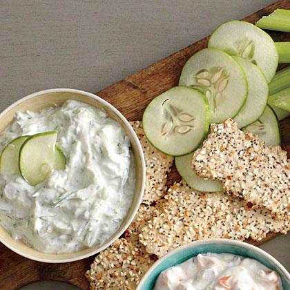 Cucumber and Dill Dip Recipe